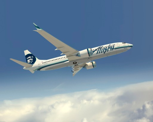 Alaska Airlines 737-MAX8 Artwork K65759