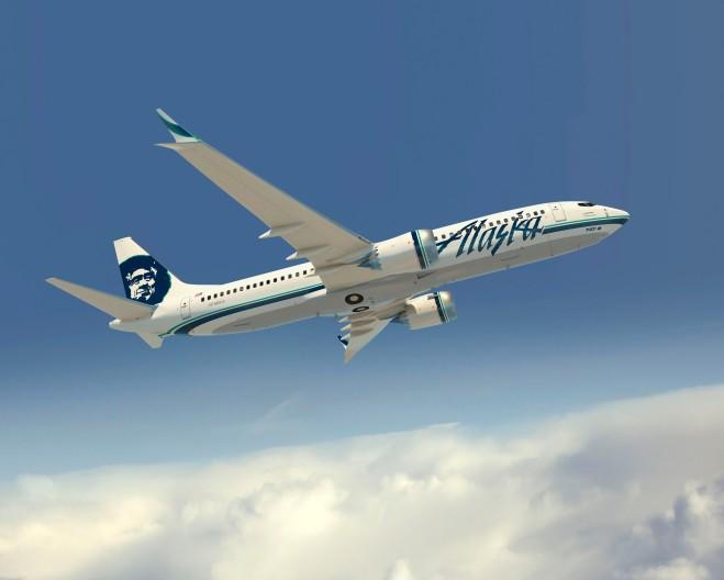 Alaska Airlines 737-MAX8 Artwork K65759