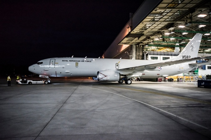 norwegian-air-forces-first-boeing-p-8a-poseidon-rolls-out-of-the-paint-shop-1